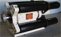 Customized high speed actuator 150 kN, 9 m/s