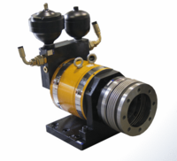 Hydrostatic bearing rotary actuator Series AT, 2000Nm, +/-50°
